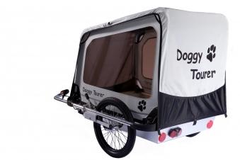Fahrradanhänger / Hundeanhänger Kids Touring Doggy Tourer L silber Bild 1