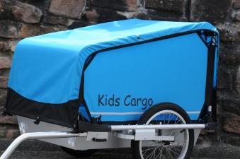 Fahrradanhänger / Hundeanhänger Kids Touring Doggy Tourer M blau Bild 1