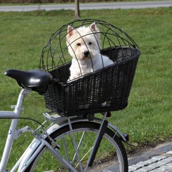 Fahrradkorb mit Gitter TRIXIE 35x49x55cm schwarz Bild 2