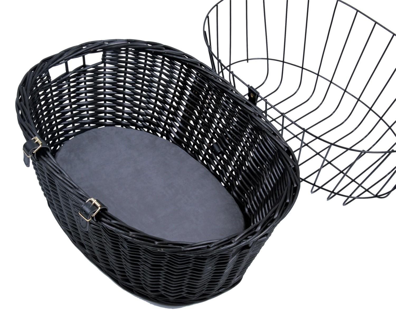 Fahrradkorb mit Gitter TRIXIE 50x41x35cm schwarz Bild 3
