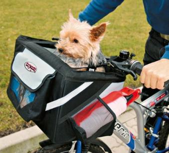 Fahrradtasche Front-Box Standard TRIXIE 38x25x25cm Bild 1