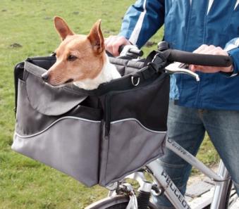 Fahrradtasche Front-Box de Luxe TRIXIE 41x26x26cm Bild 1