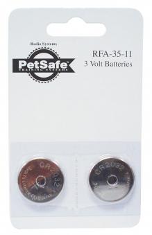 Ersatzbatterie 2x 3 V 2032 PetSafe RFA-35-11 Bild 1