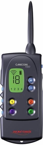 Num`axes Canicom 1500 Handsender für Stromhalsband / Funktrainer Bild 1