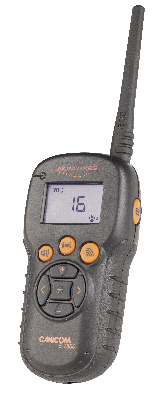 Num`axes Canicom 5.1500 Handsender für Stromhalsband / Funktrainer Bild 1