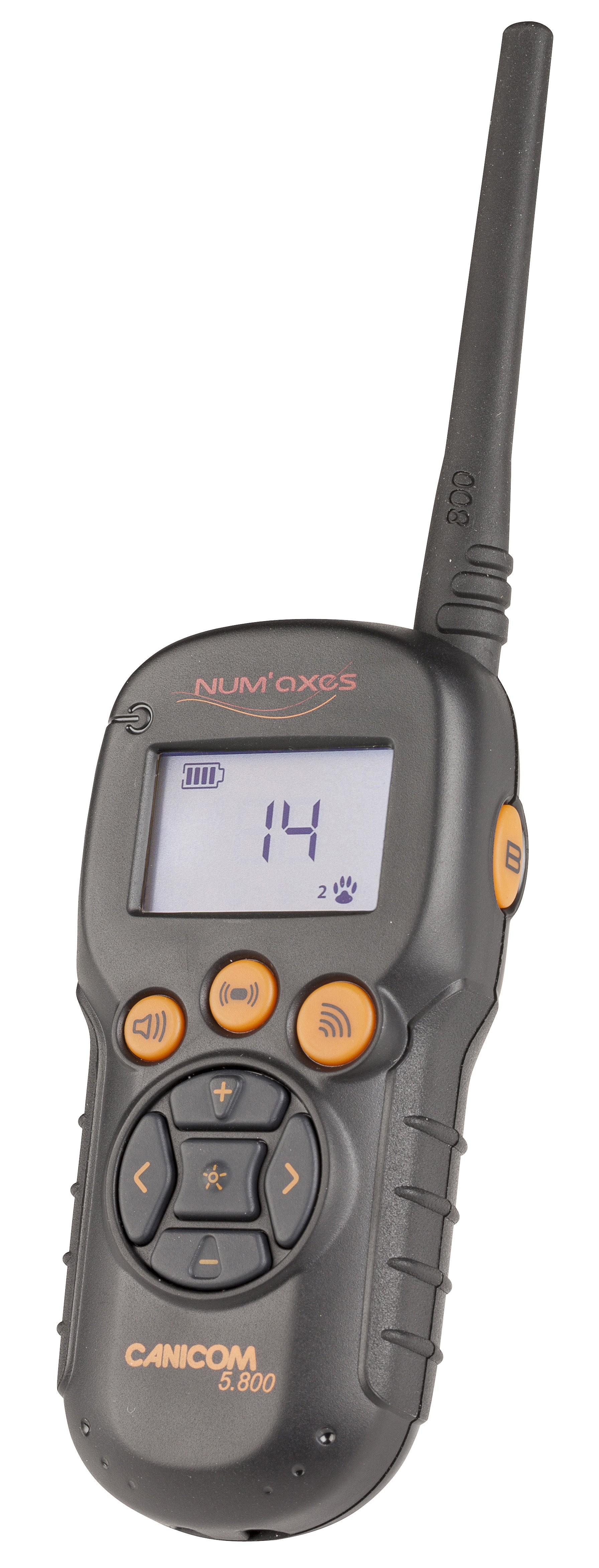 Num`axes Canicom 5.800 Handsender für Stromhalsband / Funktrainer Bild 1