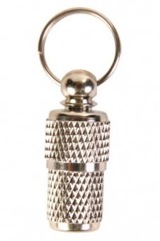 Adressanhänger Metall TRIXIE verchromt Bild 1