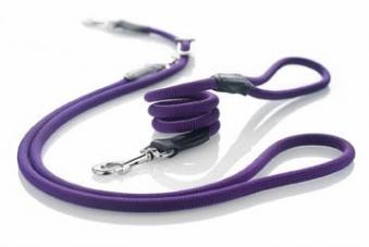 Agility-Leine / Moxonleine Freestyle HUNTER Ø 10 mm 120cm violett Bild 2