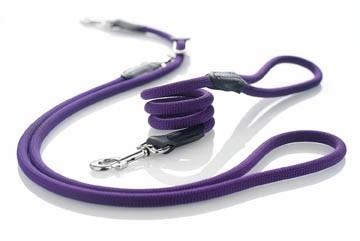 Agility-Leine / Moxonleine Freestyle HUNTER Ø 10 mm 170cm violett Bild 2