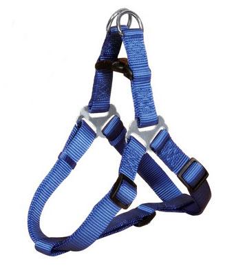 Hundegeschirr / Brustgeschirr Premium Nylon TRIXIE Größe XS-S blau Bild 1
