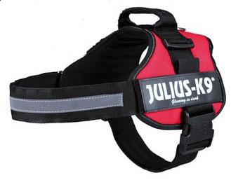 Hundegeschirr Julius K9 Powergeschirr Gr.0/M-L 58-76cm rot Bild 1