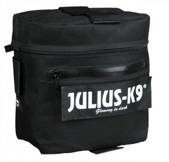 Julius K9 Packtaschen für Hunde Powergeschirr 3 schwarz