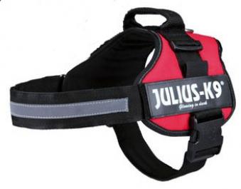 Hundegeschirr Julius K9 Powergeschirr Mini M 51-67cm rot Bild 1
