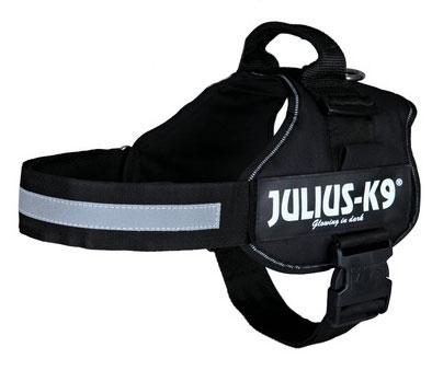 Hundegeschirr Julius K9 Powergeschirr Mini M 51-67cm schwarz Bild 1