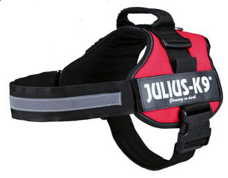 Hundegeschirr Julius K9 Powergeschirr Mini-MiniS 40-53cm rot Bild 1