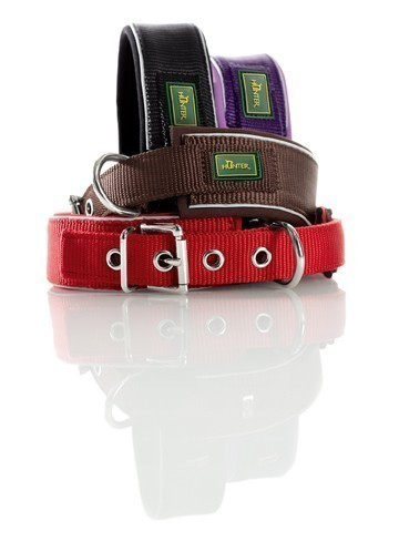Halsband Neopren Reflect HUNTER 38 - 46 cm rot Bild 2