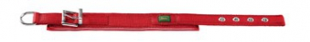 Halsband Neopren Reflect HUNTER 38 - 46 cm rot