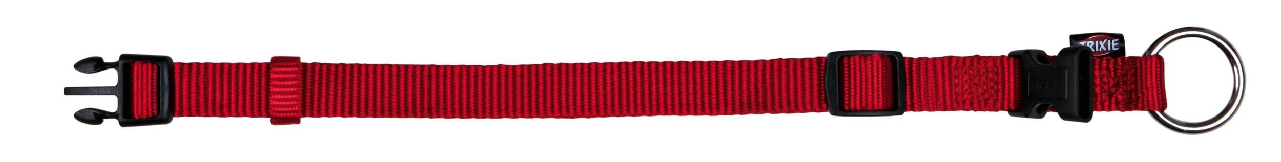 Halsband Premium verstellbar Nylon TRIXIE Größe XS-S rot Bild 1