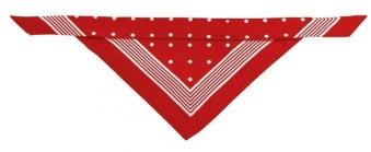 Hundehalstuch Hunter Nicky-Tuch 55x55cm rot Bild 1