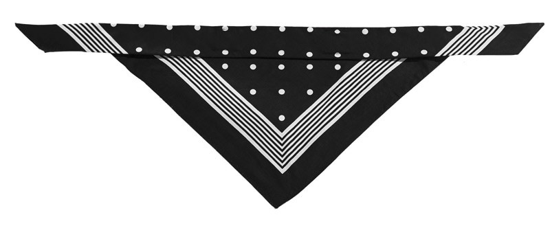 Hundehalstuch Hunter Nicky-Tuch 55x55cm schwarz Bild 1