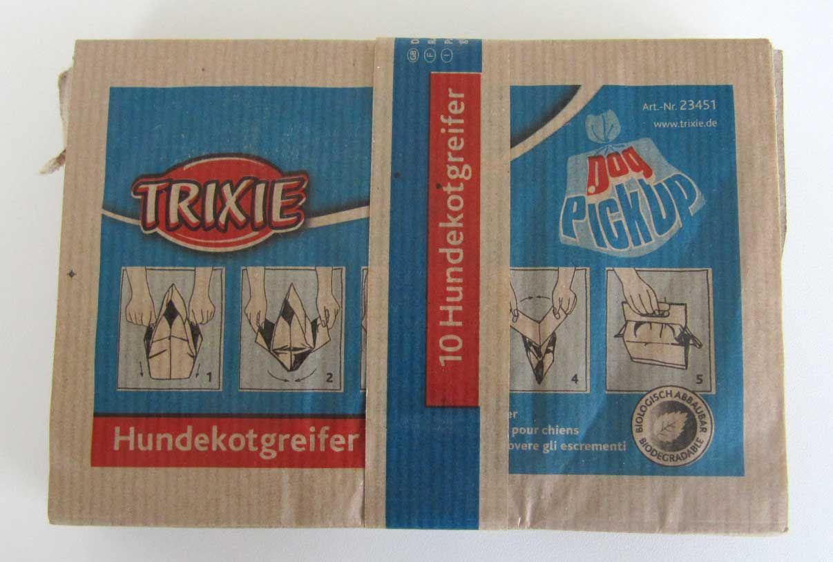 "Hundekotbeutel Papier Trixie ""Doggy Pick Up"" 10 St. Bild 1"