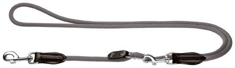 Hundeleine / Vario-Leine Freestyle HUNTER Ø 10 mm 200cm grau Bild 1