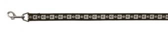 Hundeleine / Führleine Modern Art Coffee Nylon Trixie XS 1,20m 10mm Bild 1
