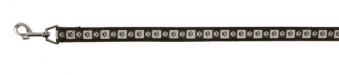 Hundeleine / Führleine Modern Art Coffee Nylon Trixie XS-S 1,20m 15mm Bild 1