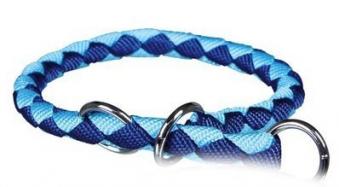 Halbwürger Trixie Cavo M-L Ø18mm 43-51cm blau hellblau