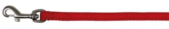 Hundeleine / Führleine Premium Nylon TRIXIE M-L 1,00m 20mm rot Bild 1