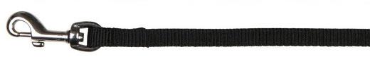 Hundeleine / Führleine Premium Nylon TRIXIE M-L 1,00m 20mm schwarz Bild 1