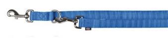 Hundeleine / Führleine Premium verstellbar Nylon TRIXIE XS-S blau Bild 1