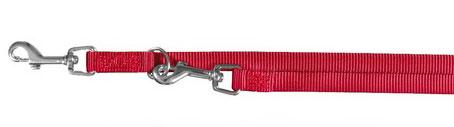 Hundeleine / Führleine Premium verstellbar Nylon TRIXIE XS-S rot Bild 1