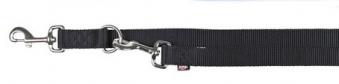 Hundeleine / Führleine Premium verstellbar Nylon TRIXIE XS-S schwarz Bild 1