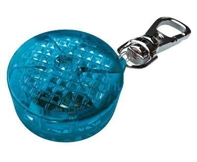 Anhänger mit Blinklicht Flasher Safety Light TRIXIE blau Ø 3,5 cm Bild 1