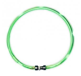 Leuchthalsring / Leuchtring LumiVision 31cm grün Bild 1