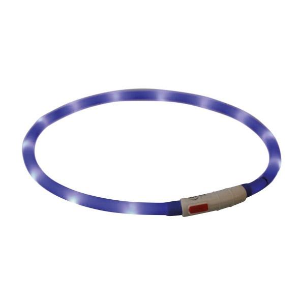 Leuchthalsring / Leuchtring LumiVision 32cm blau Bild 1