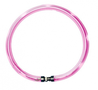 Leuchthalsring / Leuchtring LumiVision 47,5cm pink