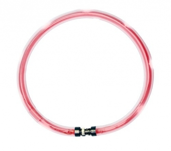 Leuchthalsring / Leuchtring LumiVision 47,5cm rot Bild 1