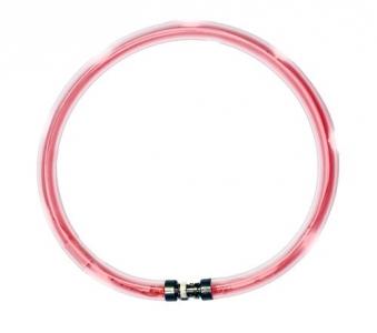 Leuchthalsring / Leuchtring LumiVision 65cm rot Bild 1