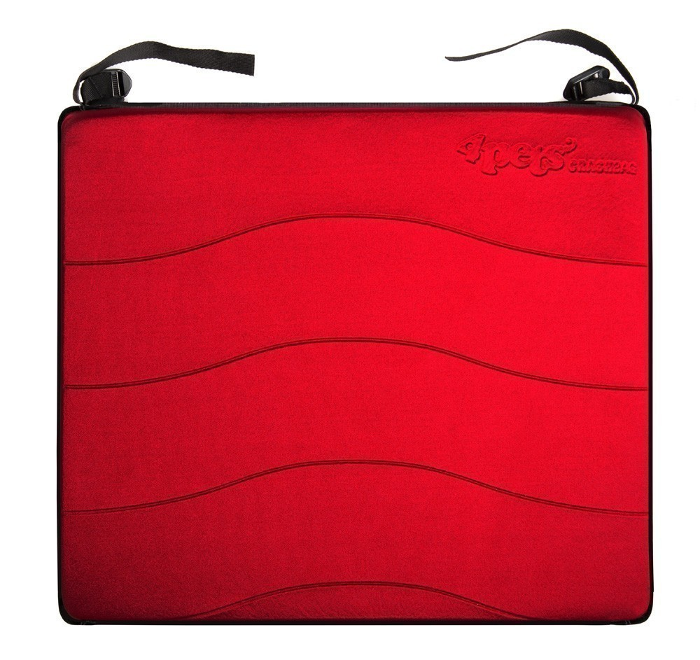 crashbag 73 f r hundebox 4pets eagle s m l three m l rot. Black Bedroom Furniture Sets. Home Design Ideas