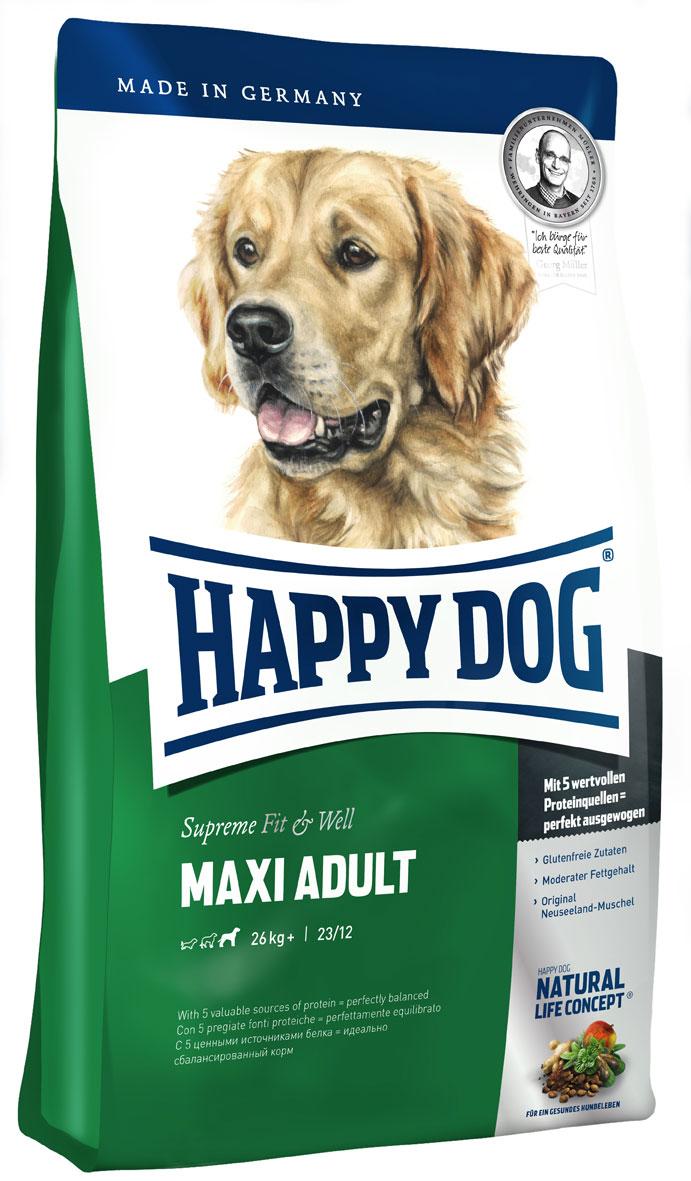 hundefutter trockenfutter happy dog fit well adult maxi. Black Bedroom Furniture Sets. Home Design Ideas