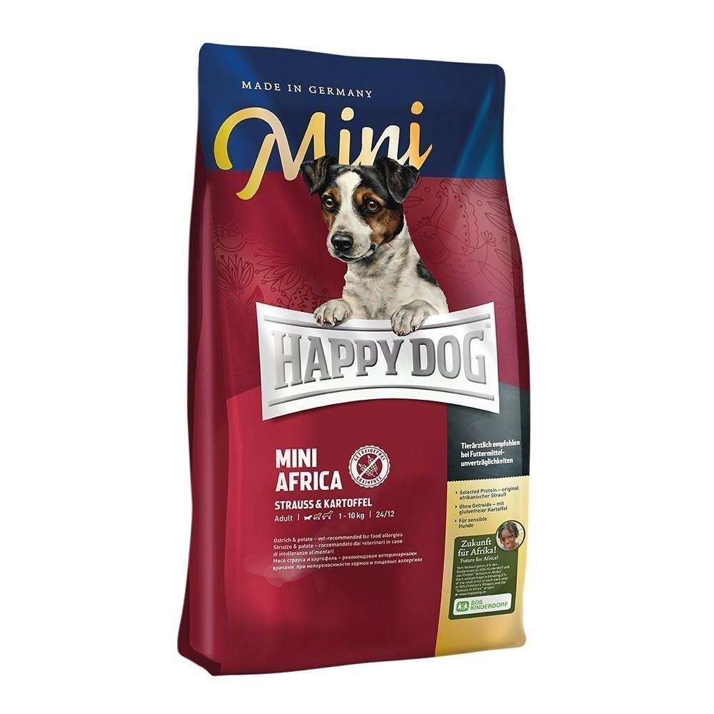 hundefutter trockenfutter happy dog mini africa 1kg. Black Bedroom Furniture Sets. Home Design Ideas