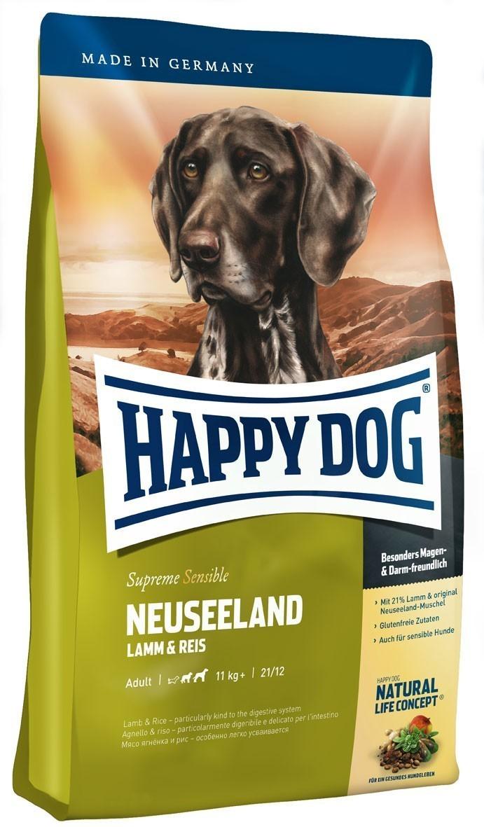 hundefutter trockenfutter happy dog supreme neuseeland 12 5kg bei. Black Bedroom Furniture Sets. Home Design Ideas