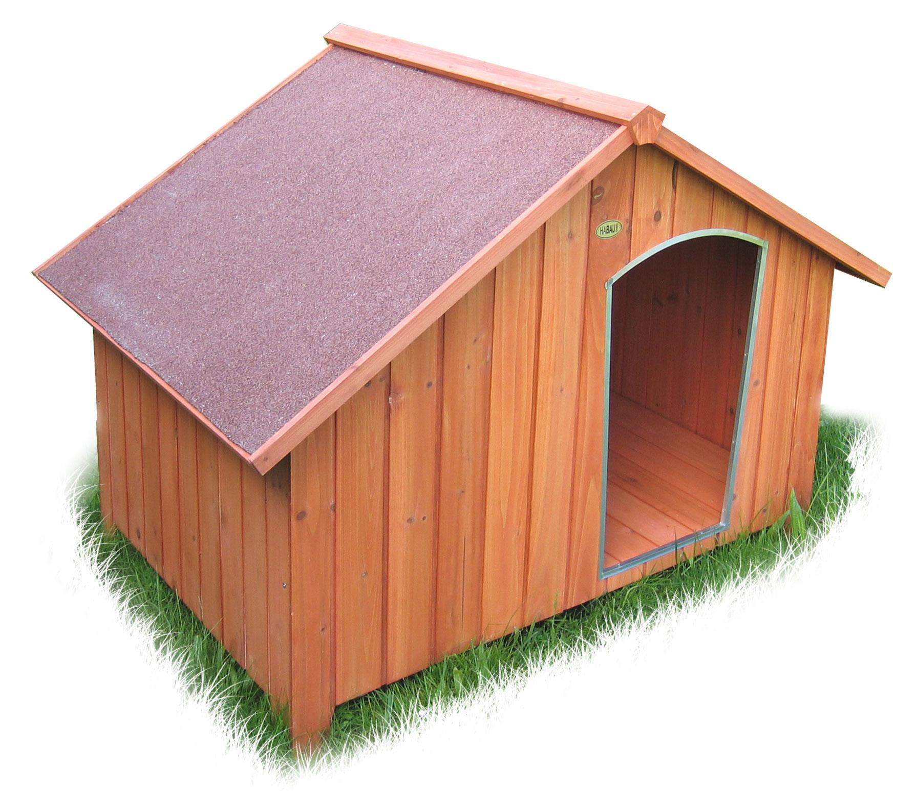 Hundehütte Habau Collie 127x101x95cm Bild 1