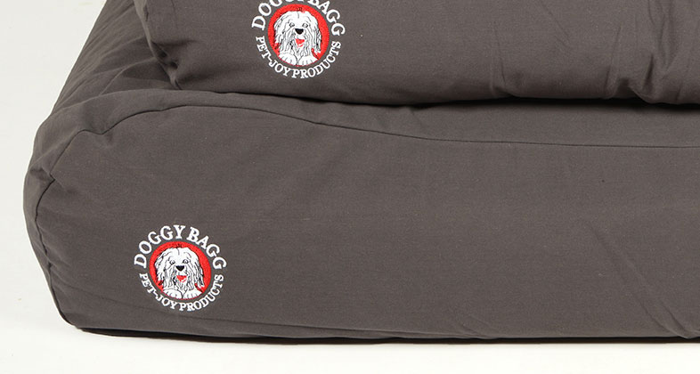 Ersatzbezug Doggy Bagg Original Gr. M Dark Gull Grey Bild 1