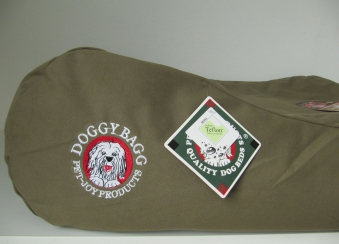 Hundebett / Hundekissen Doggy Bagg Original Gr.L Kangaroo / deep Camel Bild 2