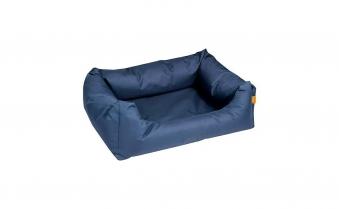 Hundebett / Hundekissen Flamingo Dreambay 100x80cm blau Bild 1