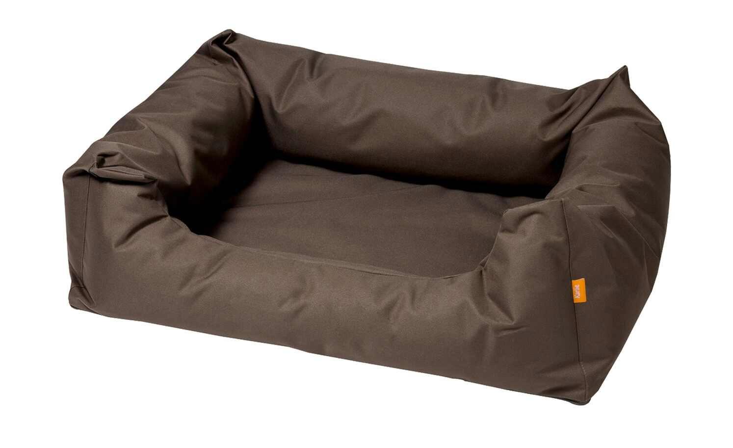 Hundebett / Hundekissen Flamingo Dreambay 120x95cm dunkelbraun Bild 1
