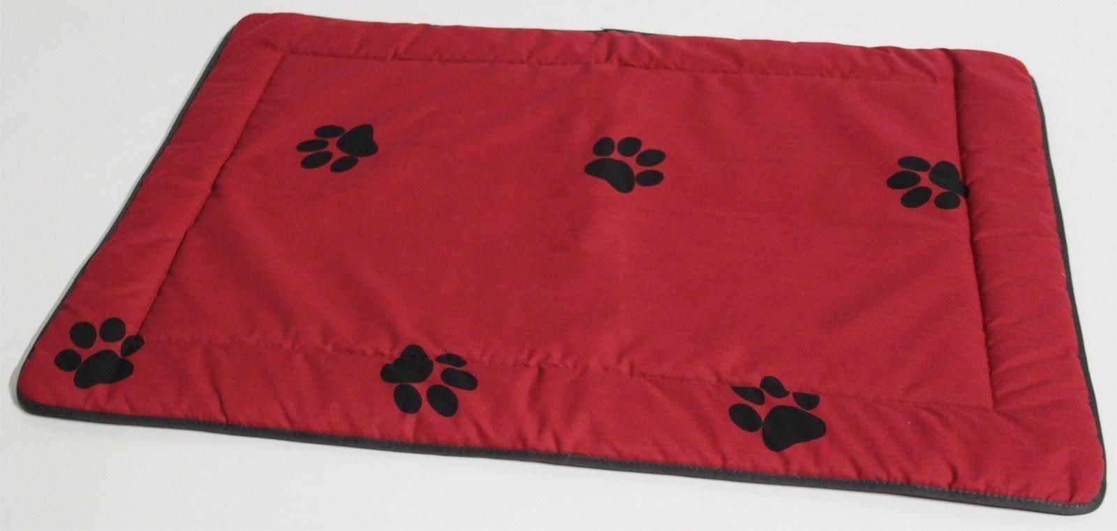 Hundedecke / Hundekissen Beo 95x65cm M322 rot / grau Bild 1